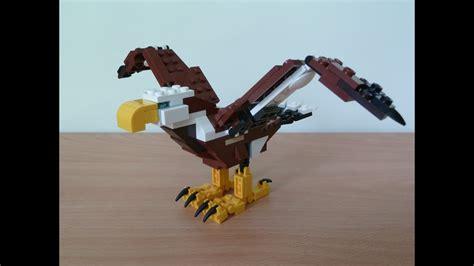 Lego 31004 Lego Creator 3 In 1 Fierce Flyer Eagle (1/3