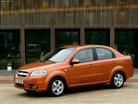 2009 Chevrolet Aveo Sedan Pictures Information And