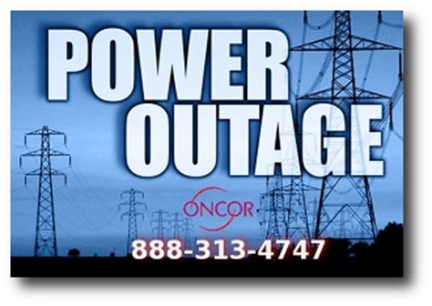 view  map  power outages   oncor