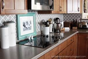 how to paint a perfect stripe landeelucom With what kind of paint to use on kitchen cabinets for diy stencil wall art