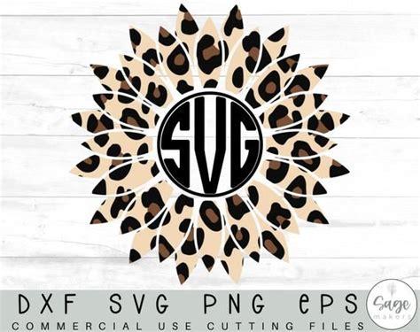 sunflower svg design sunflower monogram svg files  cricut etsy   monogram svg svg