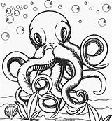 Octopus Coloring Pages Printable Realistic Cool2bkids Adult Colouring Animal Queer Template Colorings Octopuses Getcolorings Colors Mandala Drawing Getdrawings Dolphin Strong sketch template