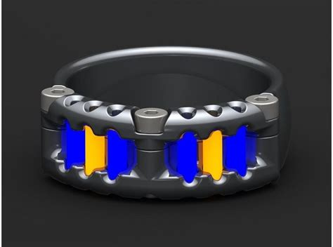 remarkable tritium ring   tofty designs called