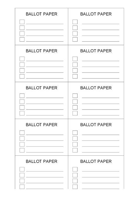 voting ballot template google docs merry christmas