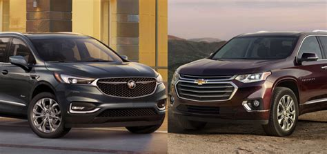 chevy traverse buick enclave  older engines gm