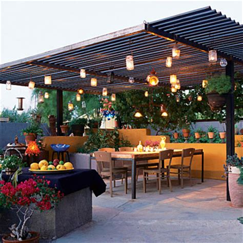 summer lights outdoor lighting ideas sunset