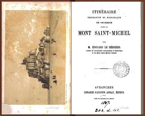 histoire et description du mont michel