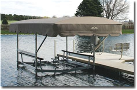Boat Canopy Cleaning Company by Mid Michigan Canvas Awning Boat Hoist Canopies