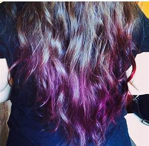 Purple And Black Cherry Kool Aid Hair Pinterest Kool