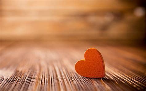 Orange Floor Heart Close Up
