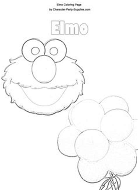 Elmo Cut Out Template by Sesame Alphabet Coloring Book Pages