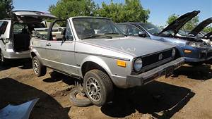 Junkyard Gem  1982 Vw Rabbit Cabriolet With 930 013 Miles