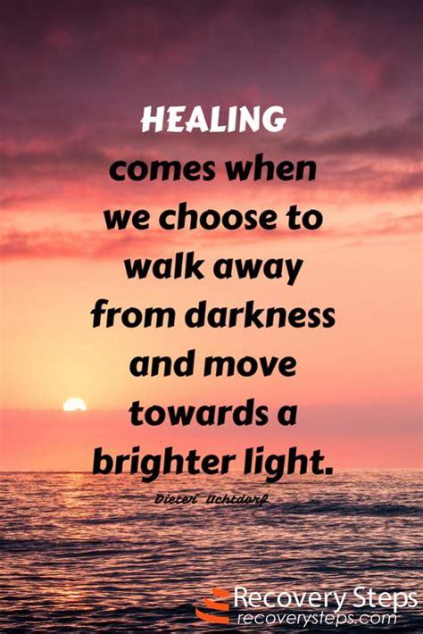 inspirational quotes healing    choose  walk