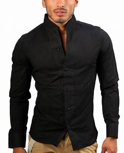 Chemise Jean Noir Homme : chemise homme noir et rose ~ Melissatoandfro.com Idées de Décoration