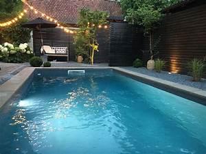 Folie Für Pool : pool in kleinem garten und grauer folie garden living ~ Watch28wear.com Haus und Dekorationen