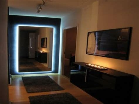Led Lights For Room Ikea by Ikea Length Floor Mirror With Led Lighting