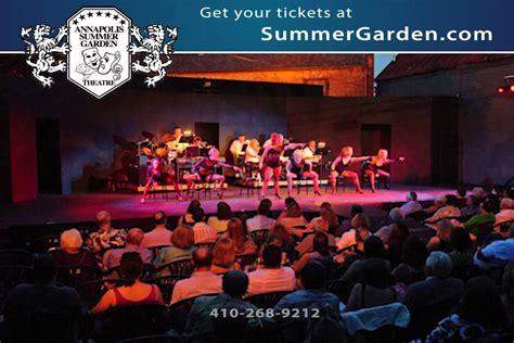 Annapolis Summer Garden Theatre Youtube