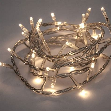 white battery christmas lights battery operated led fairy lights by little red heart