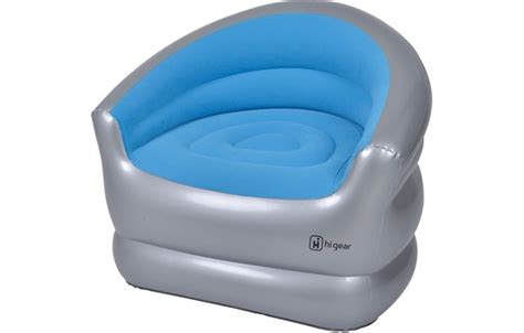 gear inflatable single chair  outdoors