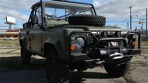 land rover military defender this land rover 110 is the military vehicle you ve always