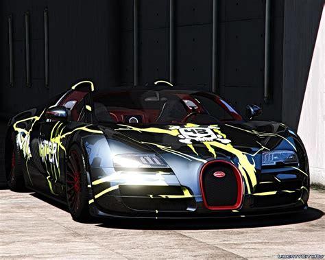 Bugatti veyron обзор мода в gta 5! Bugatti Veyron Vitesse  Template 1.0 for GTA 5