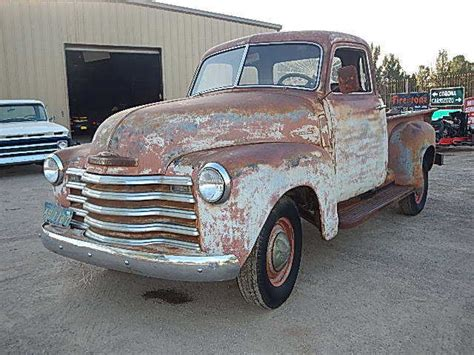 1950 chevy 1 2 ton truck original patina barn find rat rod 1951 1952