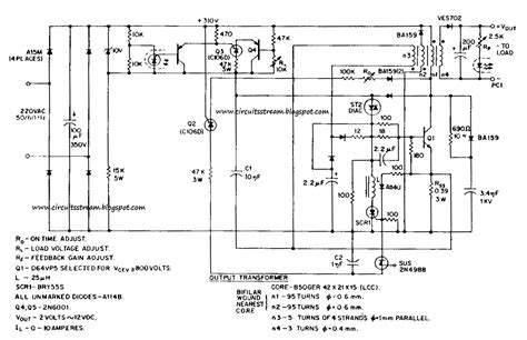 Build Switching Power Supply Circuit Diagram