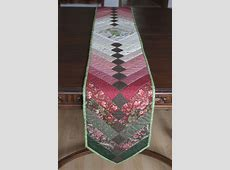 French Braid Country Table Runner