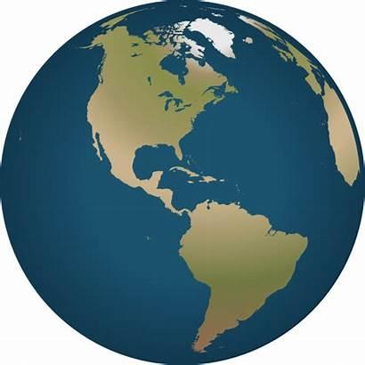 Globe America Clipart Svg Facing Vector Clip