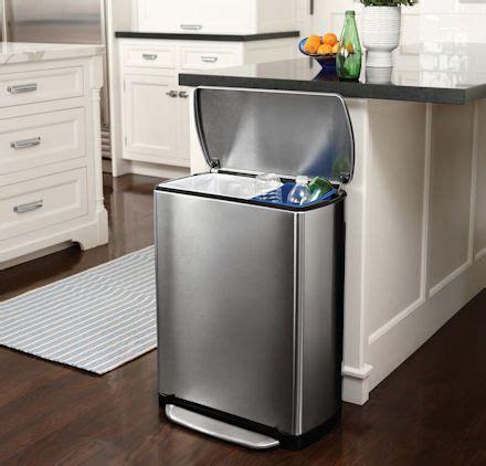 Rectangular Recycle Bin  46 Ltr  Kitchen  Pinterest