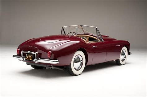 Sports Car One The First Nashhealey Restored, Heads To A