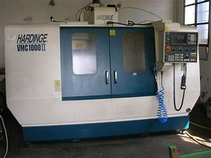 Vertical Machining Center Hardinge Vmc 1000 Ii For Sale