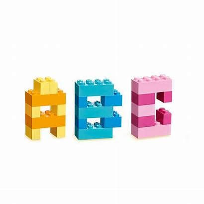 Lego Legos Mega Block Classic Buchstaben Building