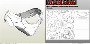 papercraft pdo file template for iron man mk7 full With iron man foam armor templates