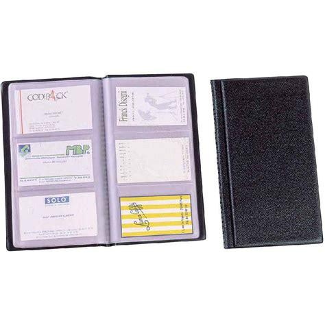 porte carte visite alba 120 cdv pvc noir vente de porte cartes de visite kwebox