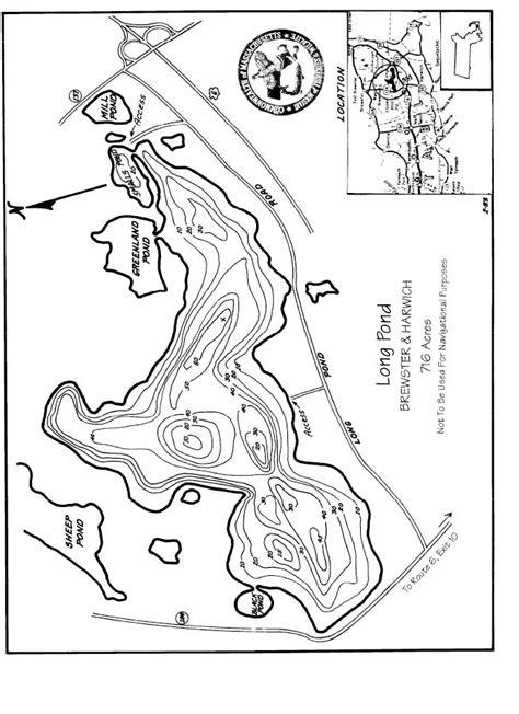 long pond brewster harwich map brewsterharwich ma
