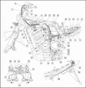 Cable Routing - Yamaha Fazer 1000