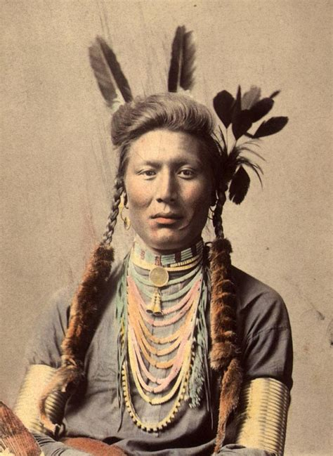 Colored By Hand Vintage Native American Photography