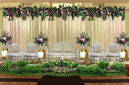 gambar dekorasi pelaminan minimalis modern  klasik