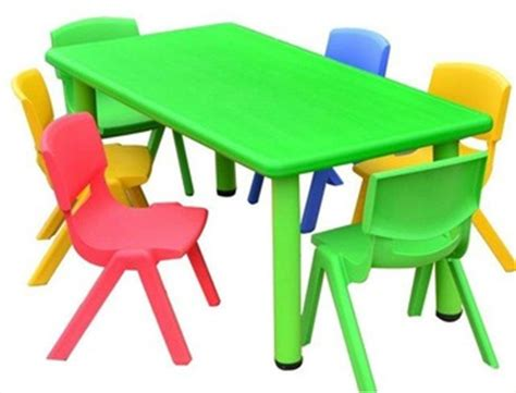 kindergarten furniture table and chairs for classroom