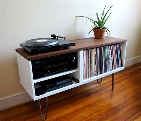 vinyl record shelf cool vinyl record storage ideas home tweaks 3286