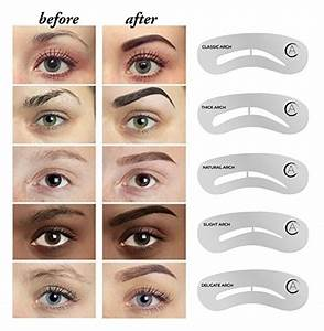 eyebrow templates printable - 25 best ideas about eyebrow stencil on pinterest brow