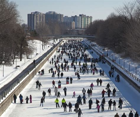six things you didn t know about skating the rideau canal