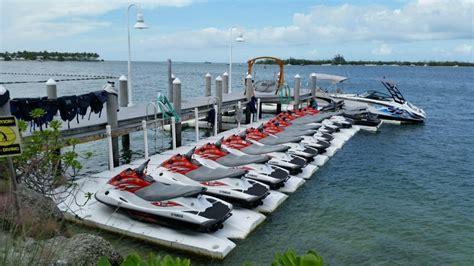 Sea Doo Jet Boat Floating Docks by Pwc Docks Sportport Systems Watercraft Platform