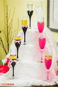 How to Make DIY Decorative Wedding Champagne Flutes