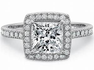 princess cut engagement rings a cut worth considering With princes cut wedding rings