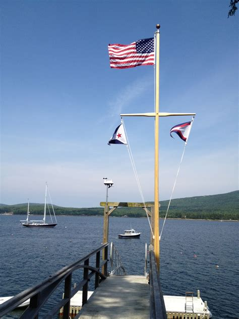 Handmade Boat Flags by Handmade Wooden Flag Poles Shaw And Tenney