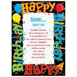 happy birthday to you invitations paperstyle