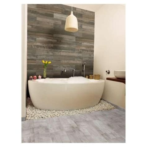 home depot marazzi wood look tile the wall tile marazzi montagna wood weathered gray 6