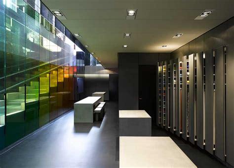 kvadrat showroom london shoreditch  architect